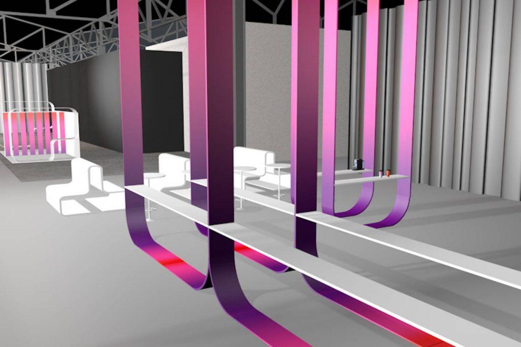 Celosphere - 3D Raumansicht Detail
